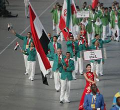 イラク選手団