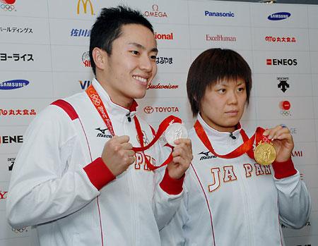 五輪・柔道の上野、励ましに感謝