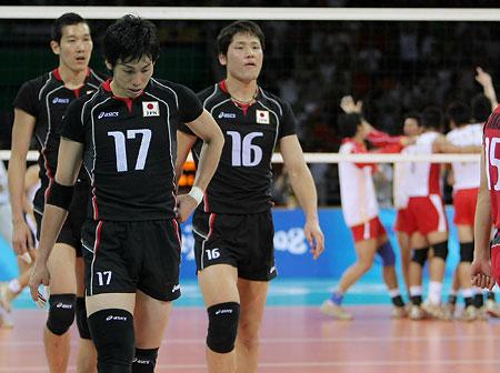 五輪・日本男子は3連敗