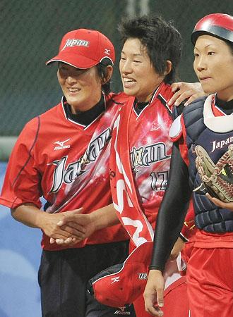 五輪・「金」への一念、上野318球