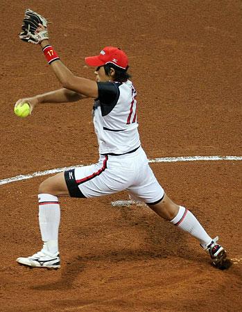 五輪・上野の投球