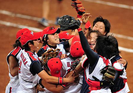 五輪・喜び合う日本