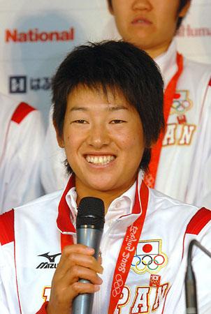 五輪・上野「心からうれしい」
