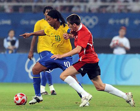 五輪・ブラジルが銅メダル