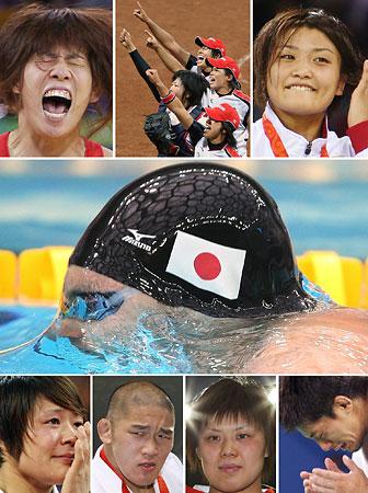 五輪・金メダルを獲得した日本人選手