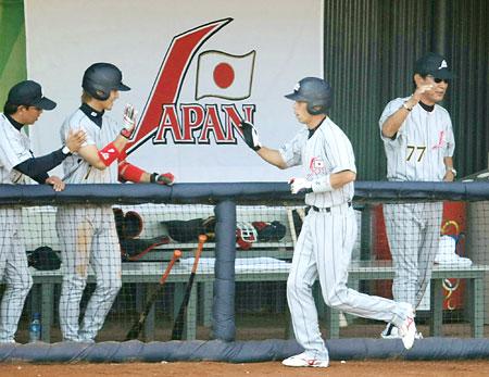 五輪・野球日本、米国戦始まる