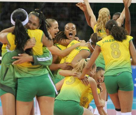 五輪・歓喜のブラジル