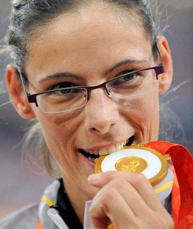 五輪・ベルギー女子陸上に五輪初の金