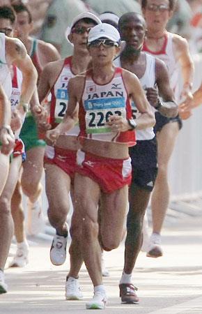 五輪・マラソン日本勢の尾方と佐藤