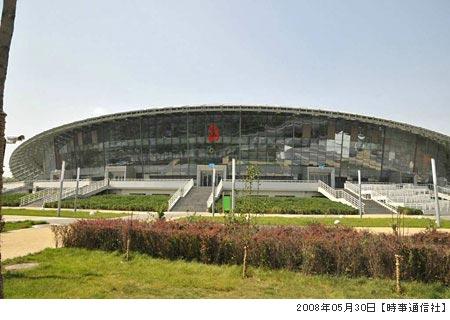 北京工大体育館・写真