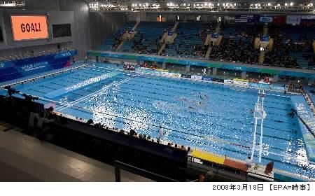 英東水泳館・写真