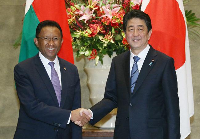 大統領 マダガスカル