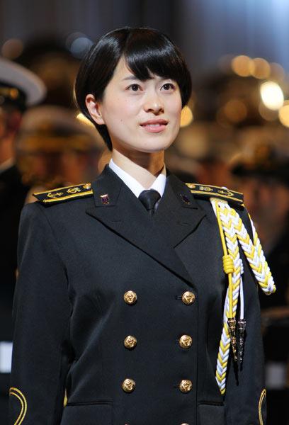 歌姫 海上 自衛隊