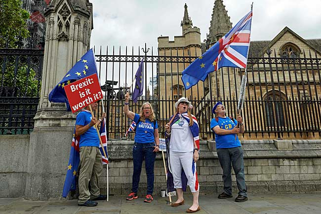 英国の欧州連合(EU…:「BREXIT...