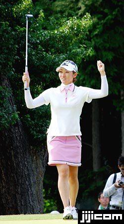 女子ゴルフ・飯島茜 写真特集