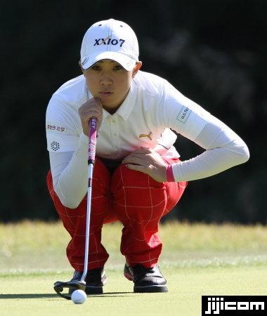 女子ゴルフ・古閑美保 写真特集