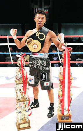 WBAスーパーフェザー級戦・王者...
