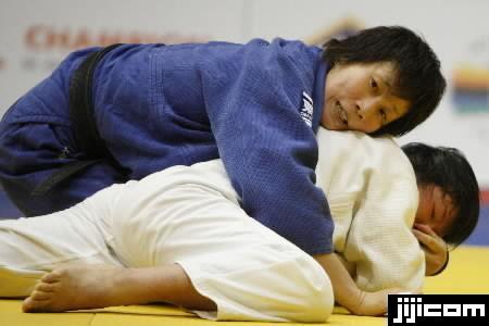 ドイツ国際柔道 女子63キロ級の2回戦で、57キロ級世界…:女子柔道 ...