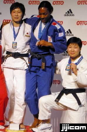 ドイツ国際柔道 北京五輪の女子柔道63キロ級で金メダルを…:女子柔道 ...
