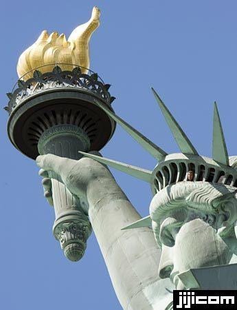 自由の女神像 展望台からの眺め 写真特集