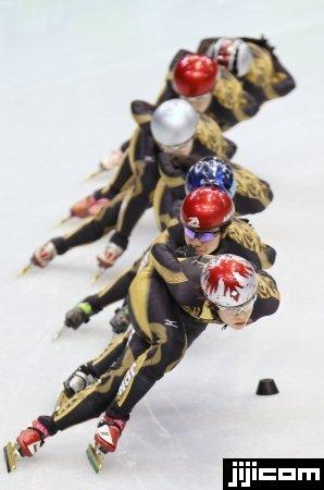 スピードスケート・ショートトラック 写真特集