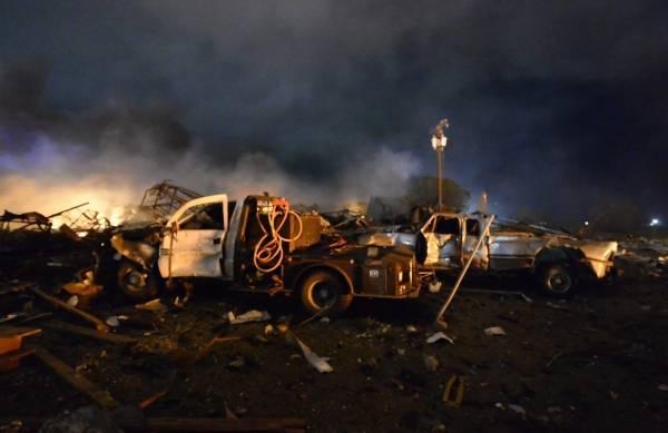 米南部テキサス州ウェーコにある…:米テキサス州の肥料工場で爆発事故 ...