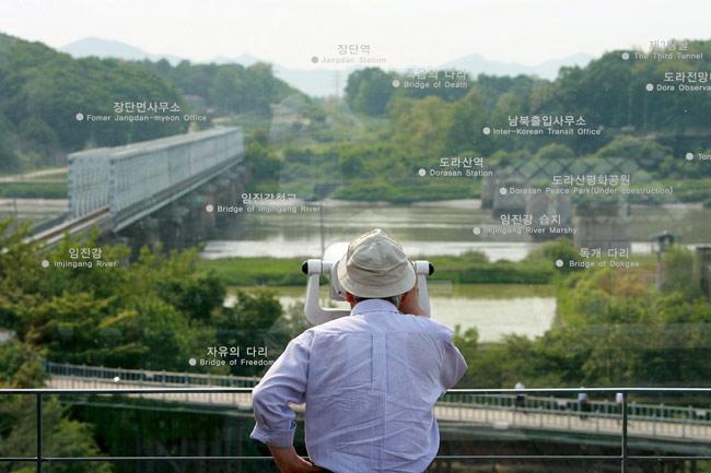 北朝鮮との非武装地帯に近い韓国...