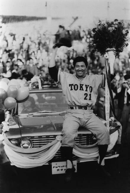 1962年、阪神との日本シリーズで...