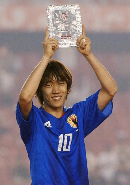 MVPに選ばれたかっこいい中村俊輔
