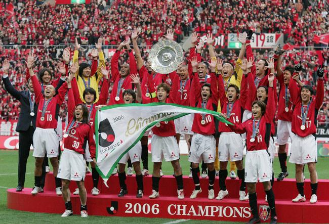 2006年J1初優勝 Jリーグで初優勝...