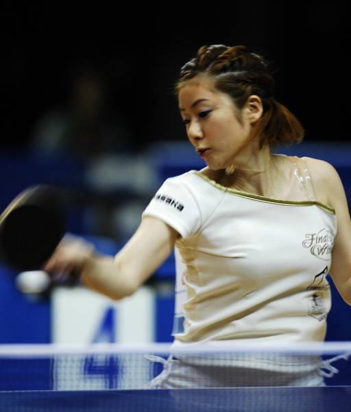 全日本卓球女子シングルス3回戦...