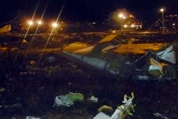 2013年 ロシアで旅客機墜落 写真特集