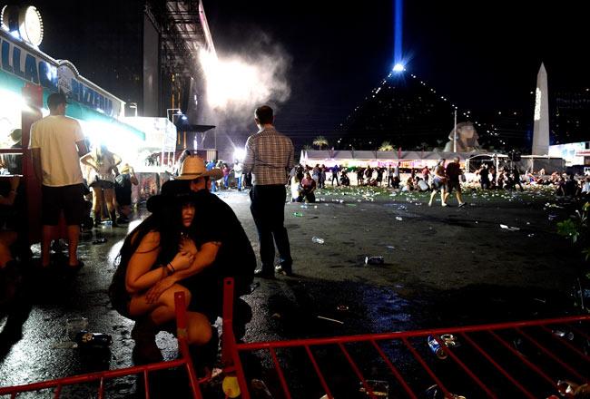 米ラスベガスで銃乱射 写真特集:時事ドットコム