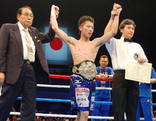 ボクシングの日本ライトフライ級タイトルマ…:「モンスター」井上尚弥 ...