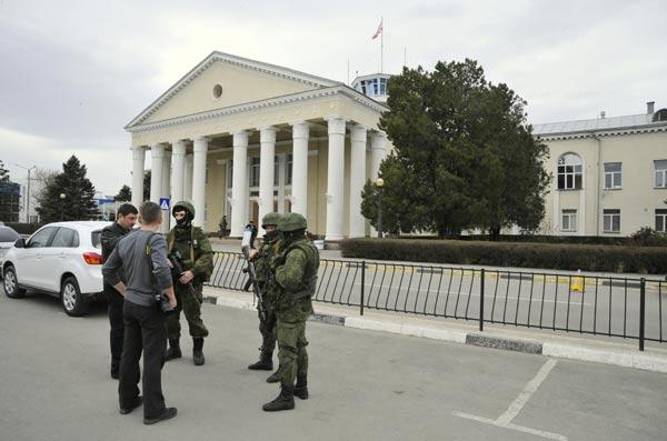 ウクライナ南部クリミア自治共和...