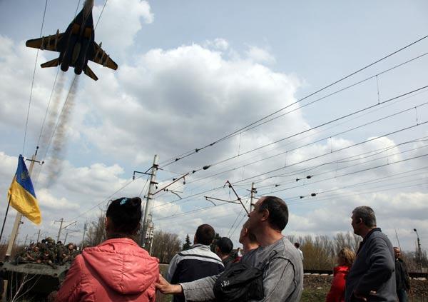 ウクライナ東部ドネツク州は、軍...