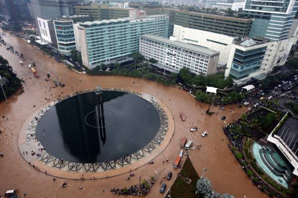 インドネシア洪水 2013 写真特集