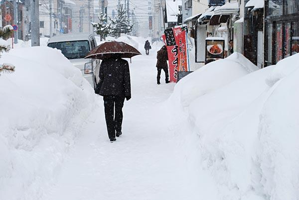 大雪 2012〜13 写真特集