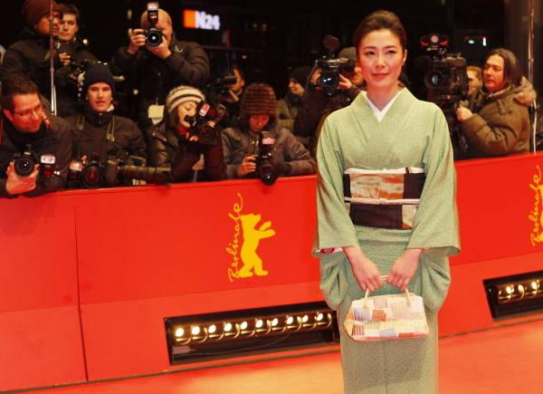 ドイツのベルリン国際映画祭の会場に姿を見せた…:海外映画祭の日本人 ...