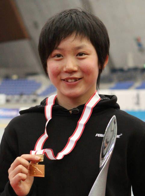 スピードスケート初の中学生五輪代表となった高木美帆(北海道・札内