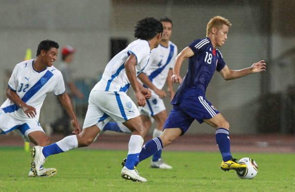 キリンチャレンジ杯サッカー・日本2―1グアテマラ…:ザックジャパン ...