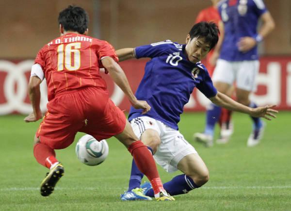 サッカー国際親善試合キリンチャレンジカップ・日本…:ザックジャパン ...