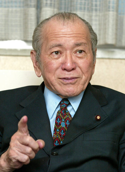 相沢英之氏(あいざわ・ひでゆき=元自民党衆院議員…:追悼 2019 写真 ...
