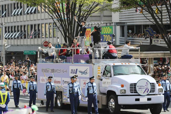 羽生結弦のパレード