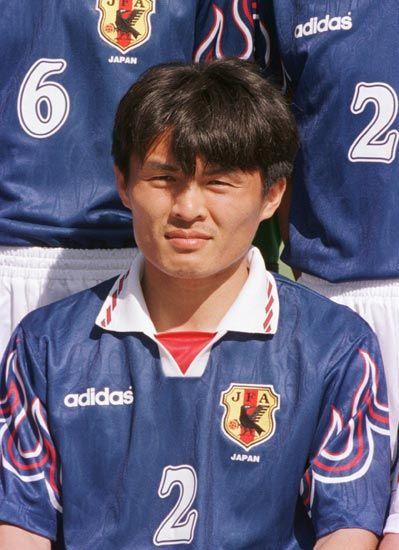 名良橋晃 DF。98年フランス…:サッカーW杯 歴代日本代表全選手 写真 ...