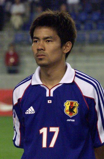明神智和 MF。02年日韓大会…:サッカーW杯 歴代日本代表全選手 写真 ...