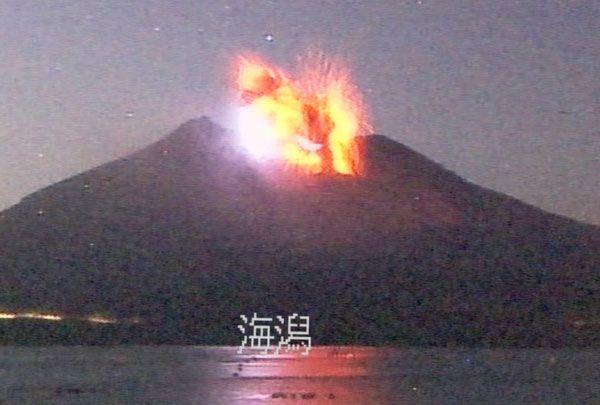 桜島、噴火の歴史 写真特集:時事ドットコム