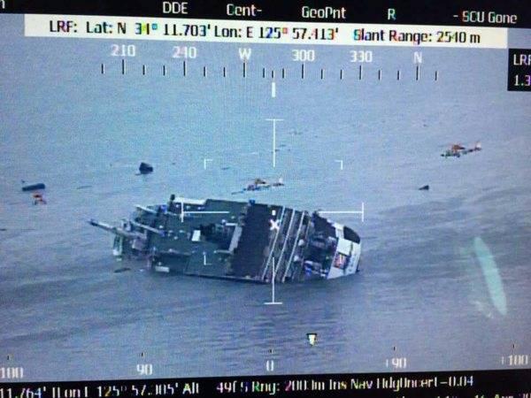 韓国の木浦海洋警察署によると4月16日午前9…:韓国旅客船沈没事故 ...