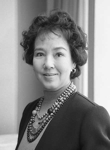 1989年当時の京マチ子さん:女優...