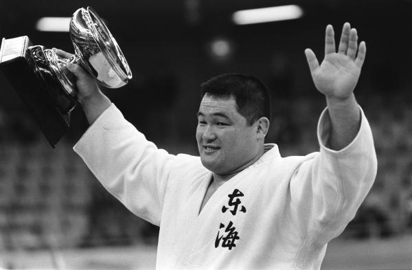 山下泰裕203戦負けなし柔道男子。1977年から85年…:連続記録 ...